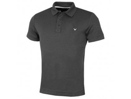 CALLAWAY pánské tričko X Solid Polo II šedé (Velikost oblečení XXL)
