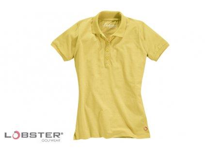 LOBSTER dámské triko Pixi žluté vel. (Velikost oblečení XS)