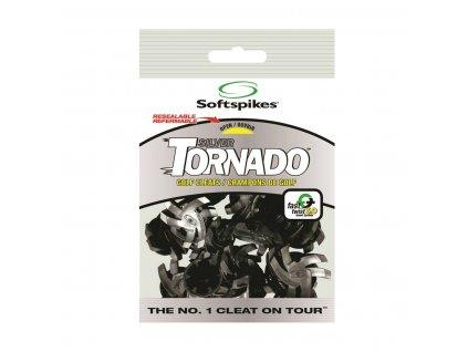 SOFT SPIKES Silver Tornado spiky Tour Lock Fast Twist