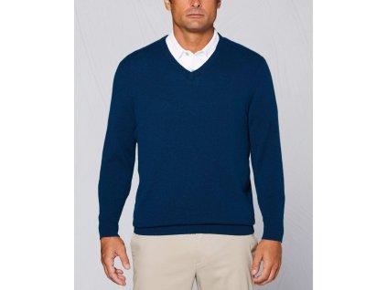 callaway apparel tour authentic cashmere v neck sweater gibraltar sea l 11557213569129 1350x