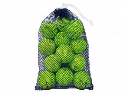 Síťka hraných míčků zelené A/B (12 ks)