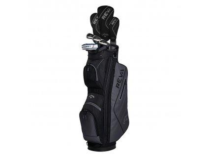CALLAWAY REVA 8 ks dámský golfový set grafitový černý