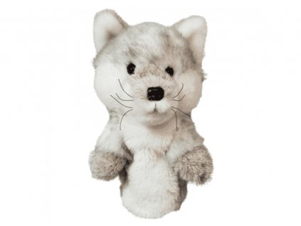 Daphnes headcover Silver Fox - stříbrná liška