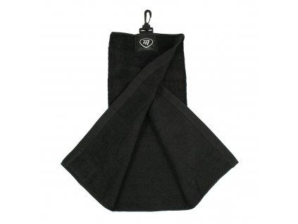 Masters ručník Tri-fold černý