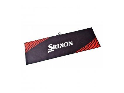 SRIXON ručník Tour černo-červený 2020srixon tour towel