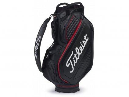 TITLEIST bag na vozík Jet Black Premium Cart černý
