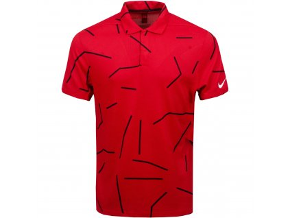 NIKE Dry-Fit Tiger Woods pánské tričko červené
