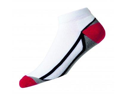 FOOTJOY Pro Dry Fashion Sport pánské ponožky bílo-červené
