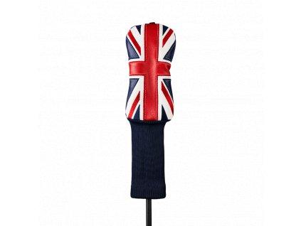 CALLAWAY Union Jack headcover na hybrid modro-červeno-bílý