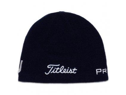 TITLEIST Merino zimní čepice modrá