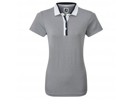FOOTJOY Birdseye dámské tričko modré