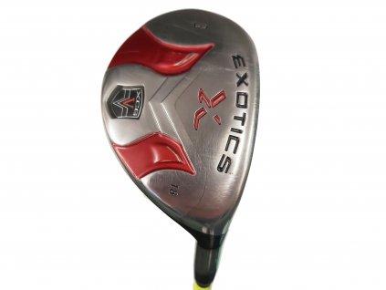 EXOTICS golfový hybrid č. 3 (18°) + Headcover