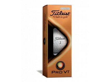 TITLEIST Pro V1 AIM 2021 golfové míčky  - (12 ks)