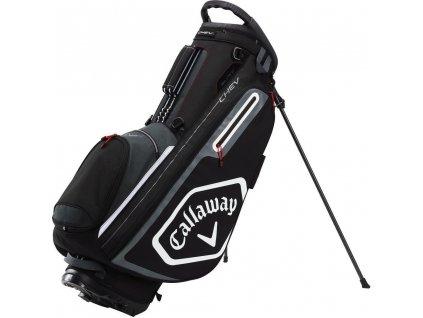 CALLAWAY Chev stand bag černo-šedý