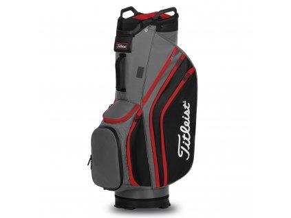 TITLEIST 14 Lightweight cart bag na vozík šedo-černý