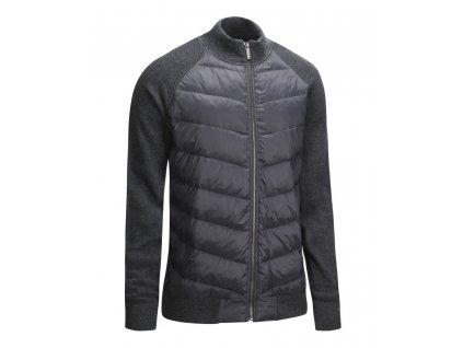 CALLAWAY Full Zip Puffer pánská bunda černá