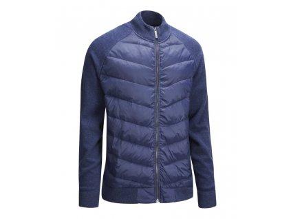 CALLAWAY Full Zip Puffer pánská bunda modrá