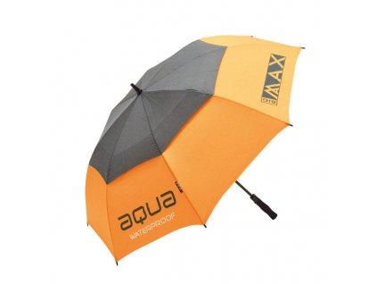 BIG MAX Aqua deštník oranžovo-šedý