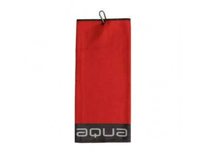 BIG MAX Aqua Trifold ručník červeno-šedý