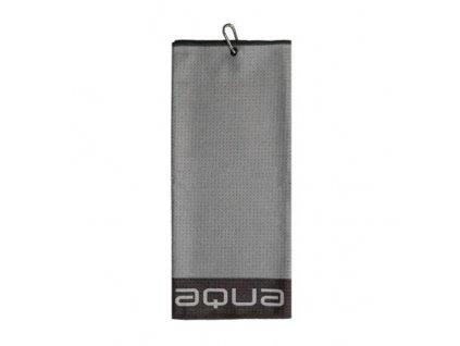 BIG MAX Aqua Trifold ručník šedý