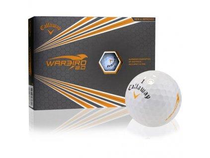 Callaway Warbird 2.0 17 golfové míčky (12 ks)