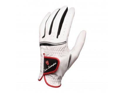 TONINO LAMBORGHINI golfová rukavice na levou ruku bílá