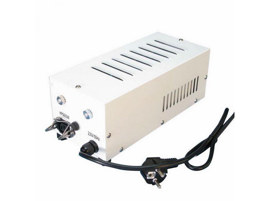 Magnetický předřadník Horti gear 600W, zaboxovaný, plug and play