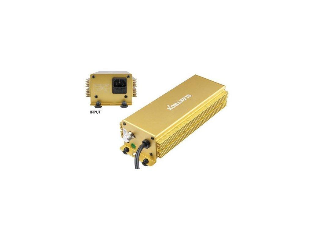 Elektronický předřadník Elektrox 600W, 230V, IEC konektor