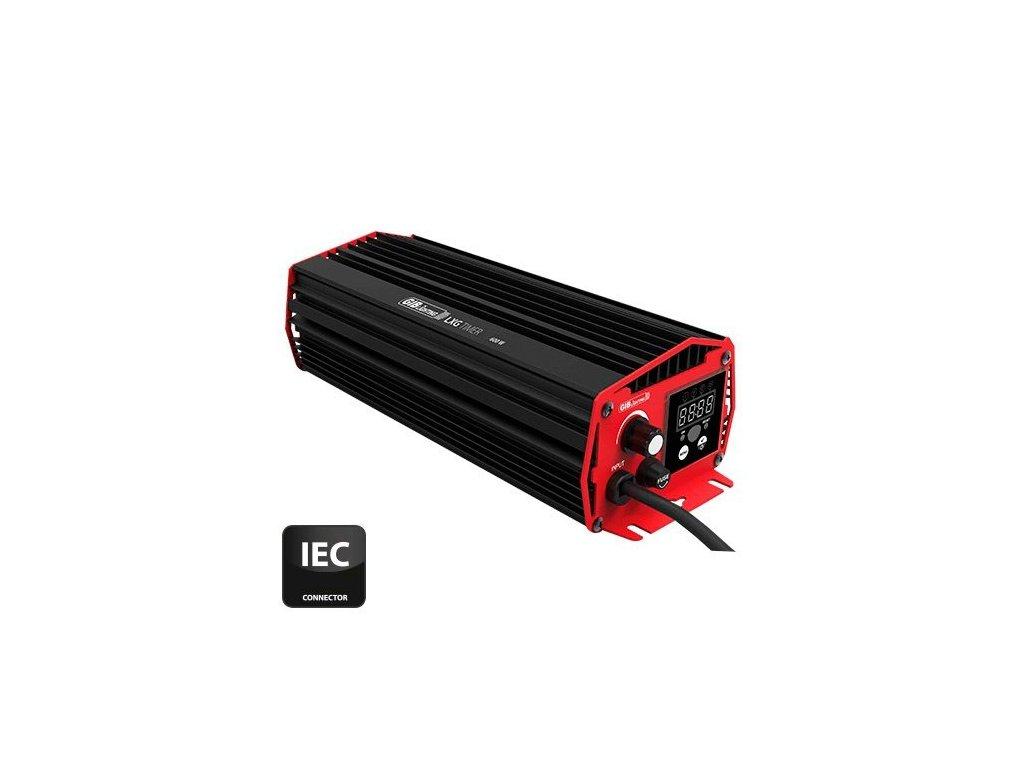 Elektronický předřadník GIB LXG Timer 600W s časovačem, IEC konektor