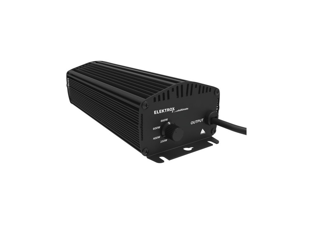 Elektronický předřadník Elektrox Ultimate 600W, IEC konektor