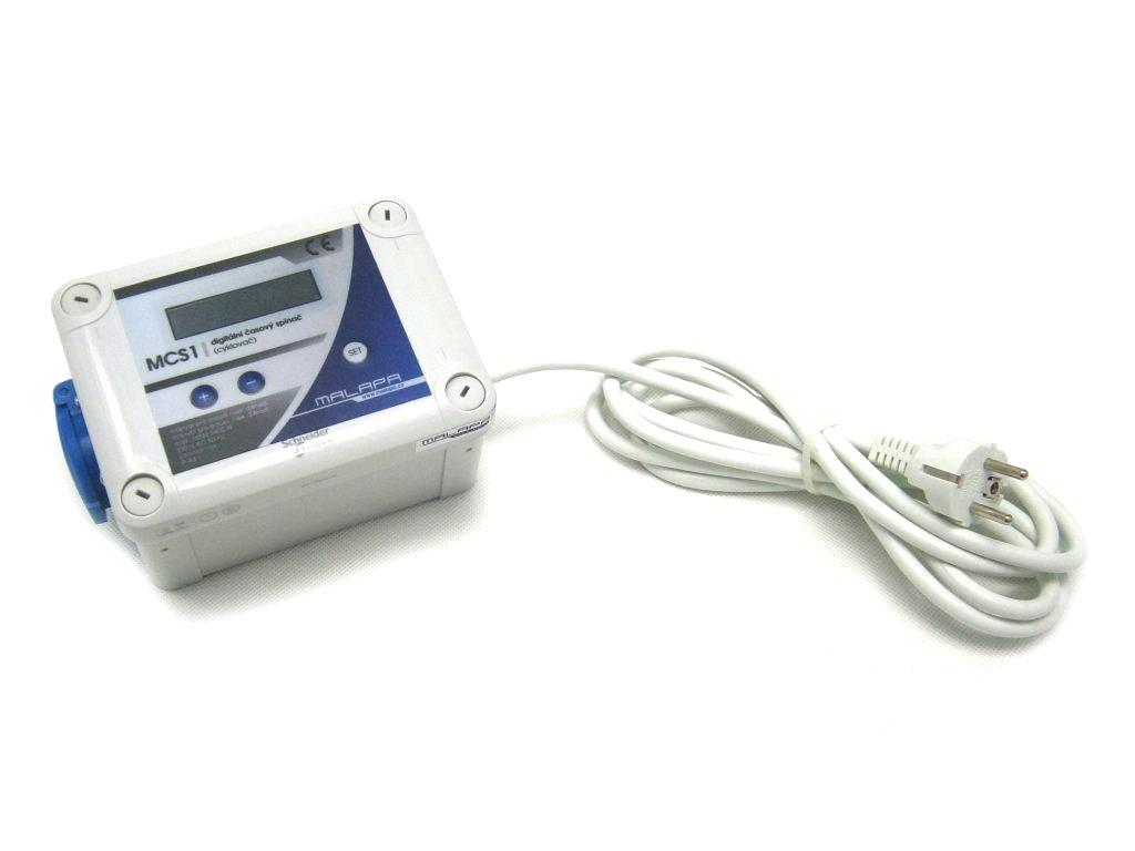 MCS1 - digitální časový spínač (cyklovač)