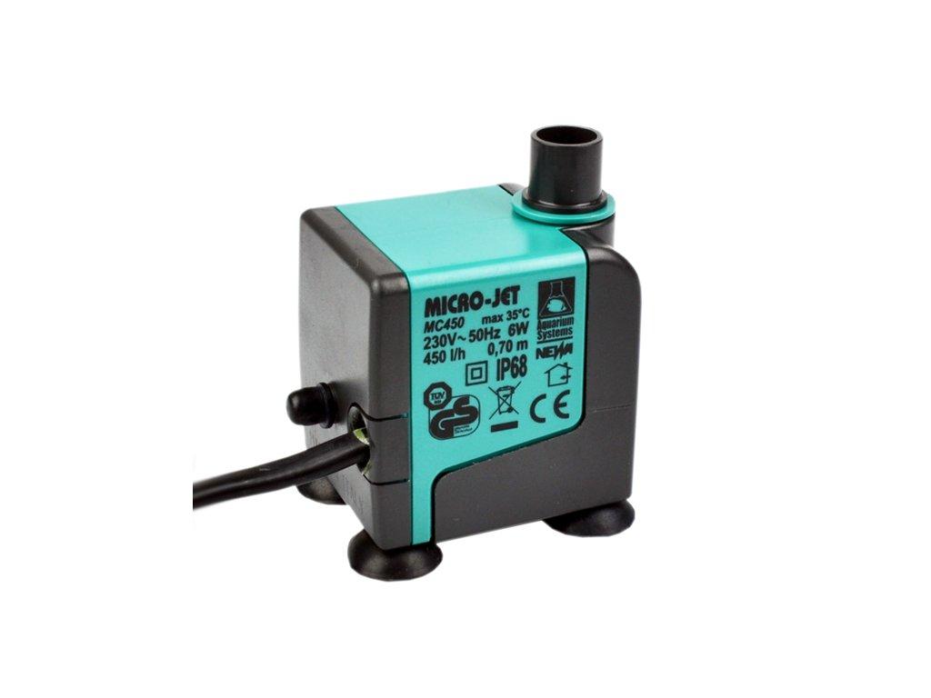 MC 450 micro pumpa pro GN604 & GN901 & řízkovnici na 12 rostlin
