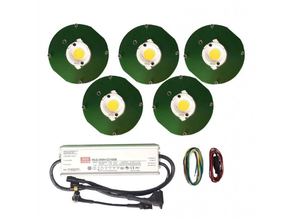 250W - CLU048 1216 HIGH POWER COB GROW KITS - Reflector