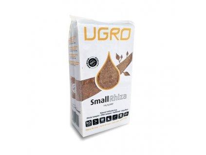 Lisovaný kokos U Gro small RHIZA - po rehydrataci 11l kokosového substrátu. Obsahuje trichodermu