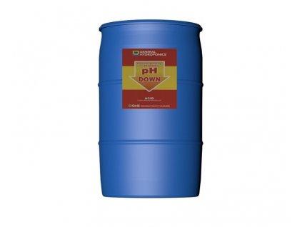 GHE pH down 60L - regulátor pH