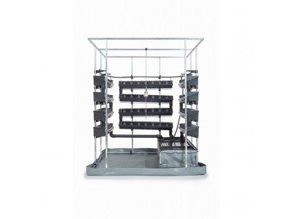 Hydroponický systém VAKPLAST 3SM - třístěnný malý