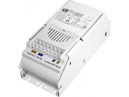 Magnetický předřadník ETI UAL 600W s tepelnou ochranou