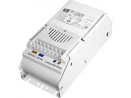 Magnetický předřadník ETI UAL 250W s tepelnou ochranou