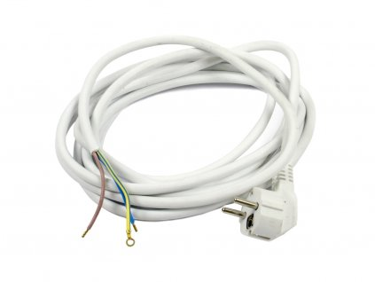 Napájecí kabel s EU zásuvkou 2m - volný konec