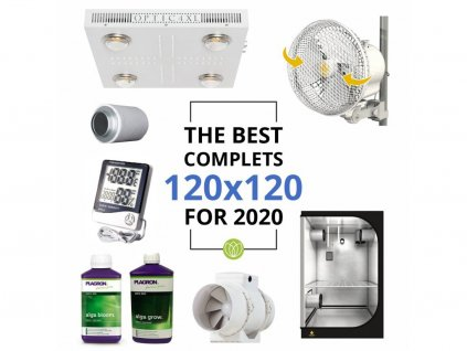 THE BEST COMPLETS 120x120 OPTIC 4 XL dimmable