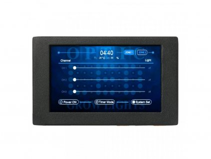 """OpticLED Master Controller - 7"""" Touchscreen - Dimmer Controls - Automated Sunrise and Sunset"""