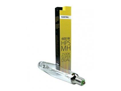 Výbojka ELEKTROX Super Dual 600W HPS/MH