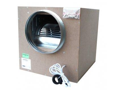 Airfan ISO-Box 2500 m³/h - odhlučněný ventilátor včetně přírub a háků k upevnění
