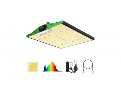 Infračervené LED světlo P1000 100W kryt 2,5x2,5ft vestavěný stmívač, plné spektrum - Viparspectra