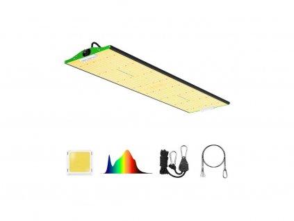 Infračervené LED světlo P4000 400W kryt, 5x5 stop, zabudovaný stmívač, plné spektrum - Viparspectra