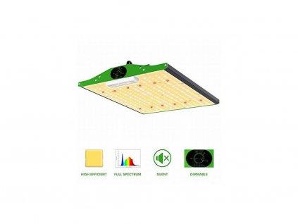 Infračervené LED světlo P600 95W kryt 2.5x2.5ft vestavěný stmívač, plné spektrum - Viparspectra