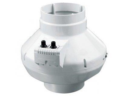 Ventilátor VK 125 U, 355m3/h, s termostatem