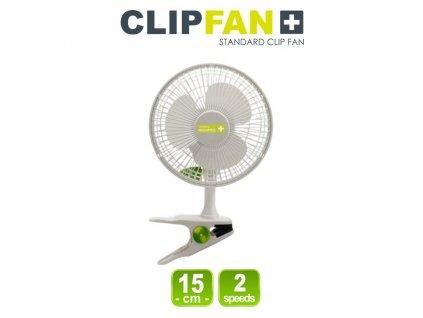 Klipsnový ventilátor CLIPFAN, průměr 15cm, 15W, 2 rychlosti