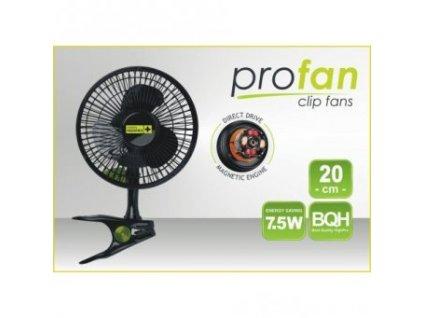 Klipsnový ventilátor PROFAN, průměr 20cm, 7,5W