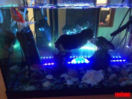 Multifunkční Led osvětlení do akvária
